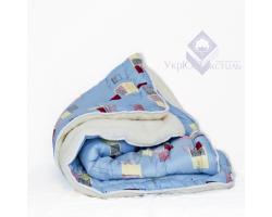 Одеяло УЮТ Мех-силикон/бязь цвета в ассортименте