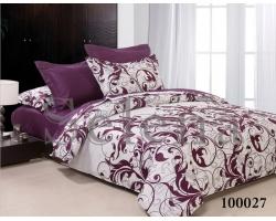 Постельное белье Selena Вензель фиолетовый бязь
