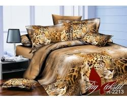 Постельное белье Леопард R2213 ранфорс