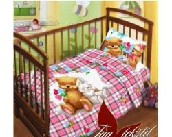 Постельное белье Детство детский в кроватку поплин