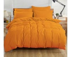 Ткань Однотонная оранжевая бязь